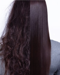 keratin treatment on brunette hair - rumors scottsdale hair salon
