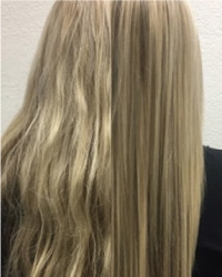 keratin treatment on bleached hair - rumors scottsdale hair salon