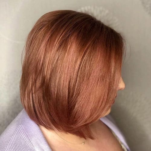 Rumors Salon Color Service Rose Gold