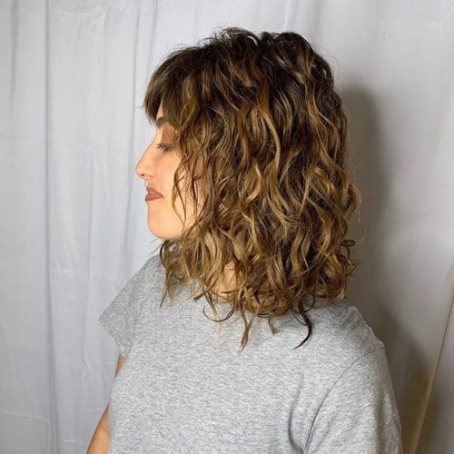 Scottsdale Rumors Hair Salon Permanent Wave Service Brunette Balayage