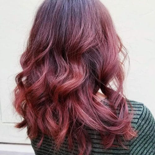 Scottsdale Hair Salon Redhead Color Services Balayage - rumors salon scottsdale